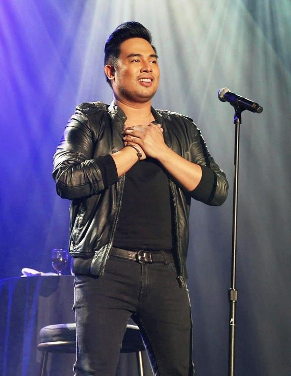 Filipino Performer Jed Madela Returns to Sam's Town Live! Feb. 14