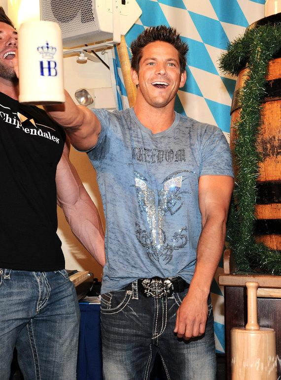Jeff Timmons at Hofbräuhaus Las Vegas