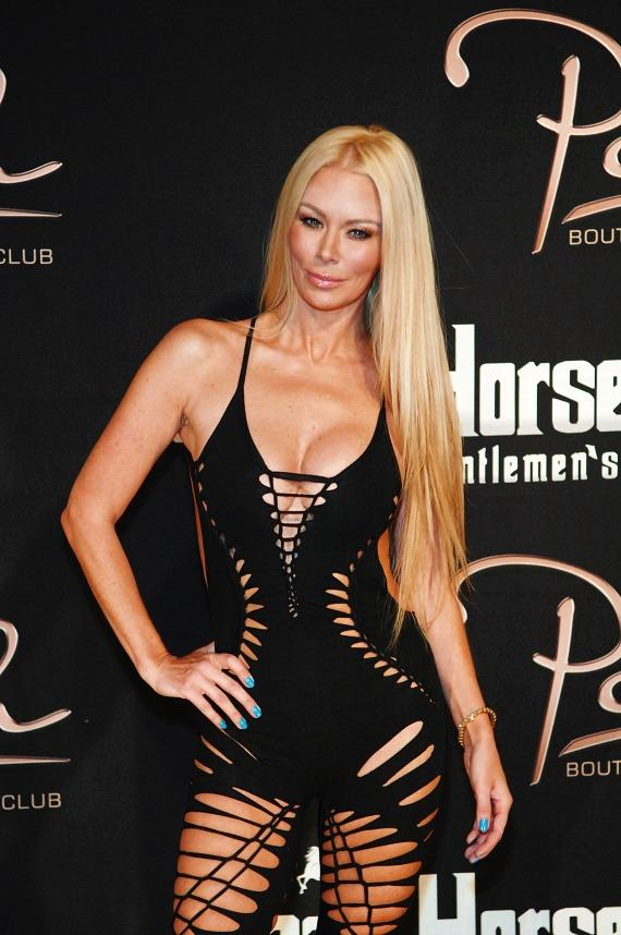 Jenna Jameson on the red carpet at Crazy Horse III