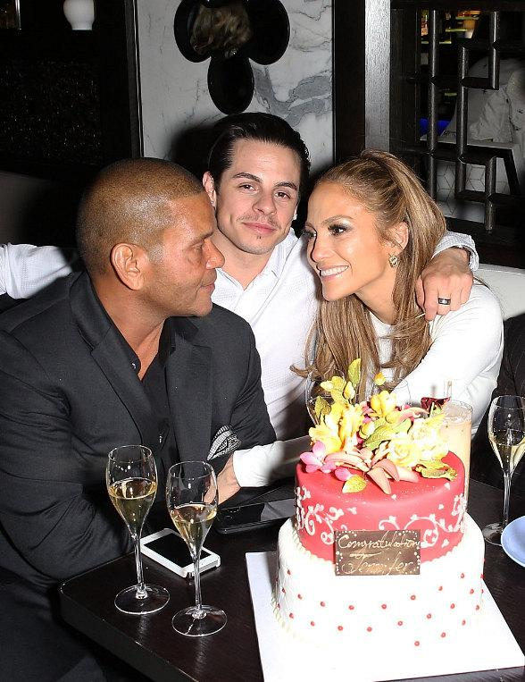 Jennifer Lopez, Casper Smart, Carly Rae Jepsen, Emily VanCamp and more Party at Hakkasan Las Vegas