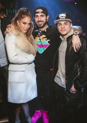 Jennifer Lopez Spotted at OMNIA Nightclub in Las Vegas