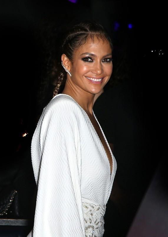 Jennifer Lopez Enjoying Residency Launch Party at Chateau Nightclub