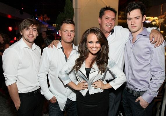 Jenny Veal celebrates 21st Birthday at Hyde Bellagio, Las Vegas