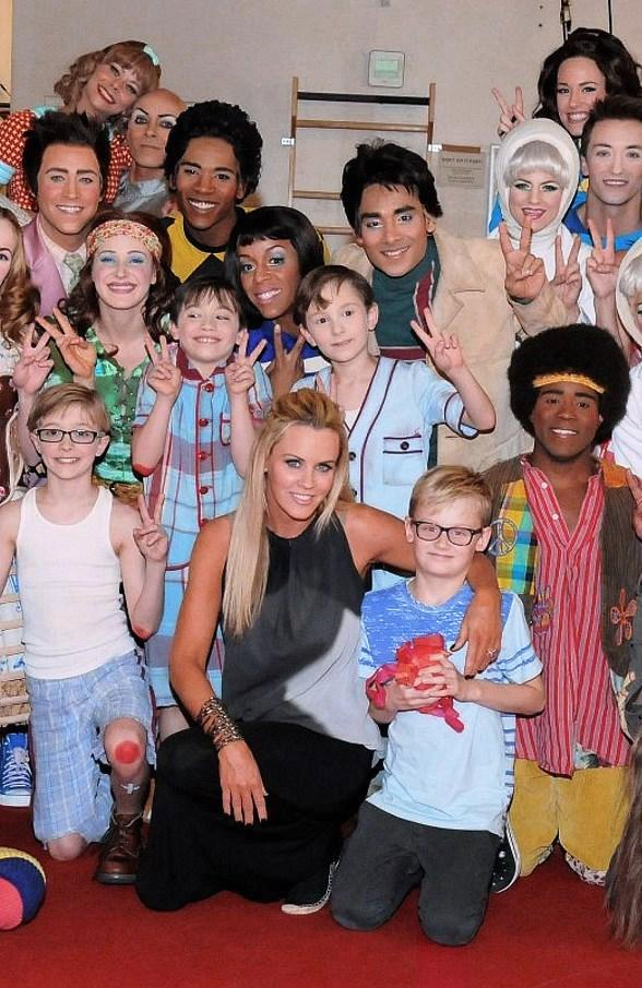 Jenny McCarthy Attends The Beatles LOVE by Cirque du Soleil at The Mirage