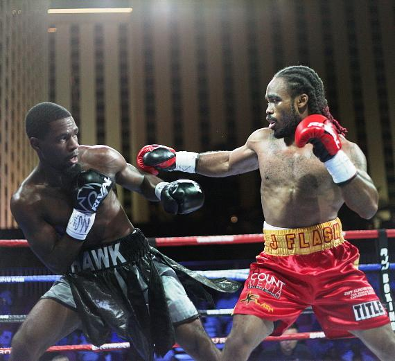 Boxing At The Downtown Las Vegas Events Center Brings Out