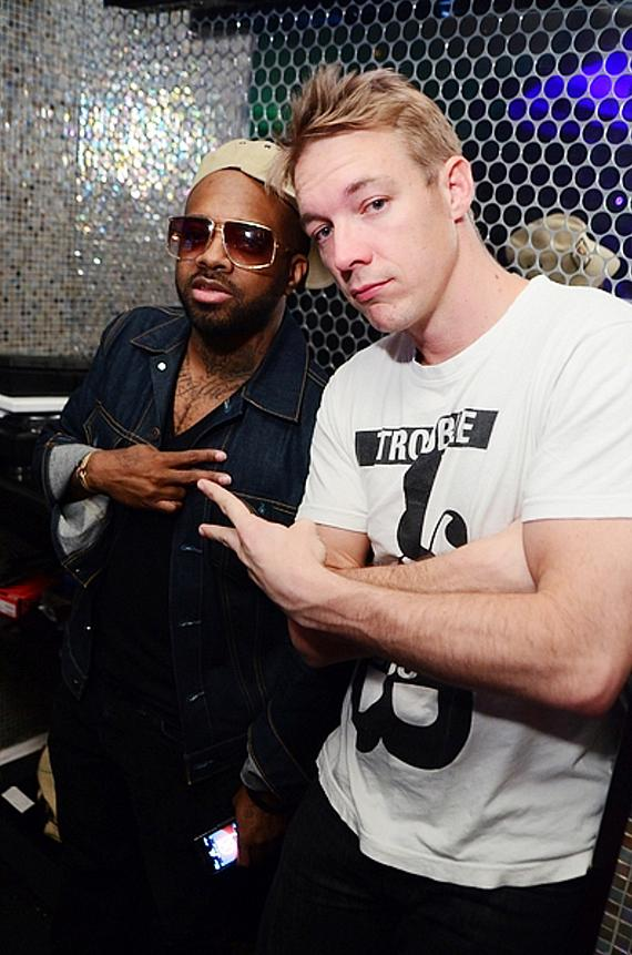 Jermaine Dupri and DIPLO at ghostbar