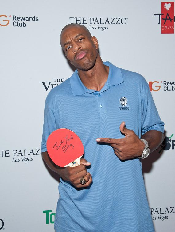 Jerome Williams on the 2015 TopSpin Charity Ping Pong Tournament Red Carpet