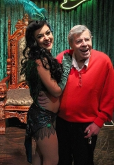 "Jerry Lewis Attends ""Absinthe"" at Caesars Palace in Las Vegas"