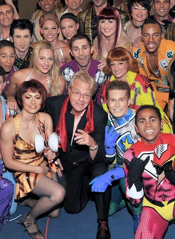 Jerry Springer Attends Viva ELVIS by Cirque du Soleil in Las Vegas