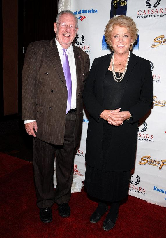 Former Mayor Oscar Goodman and his wife, Las Vegas Mayor Carolyn Goodman