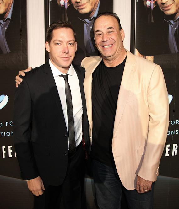 Jesse Waits, managing partner of XS and Tryst, with Jon Taffer
