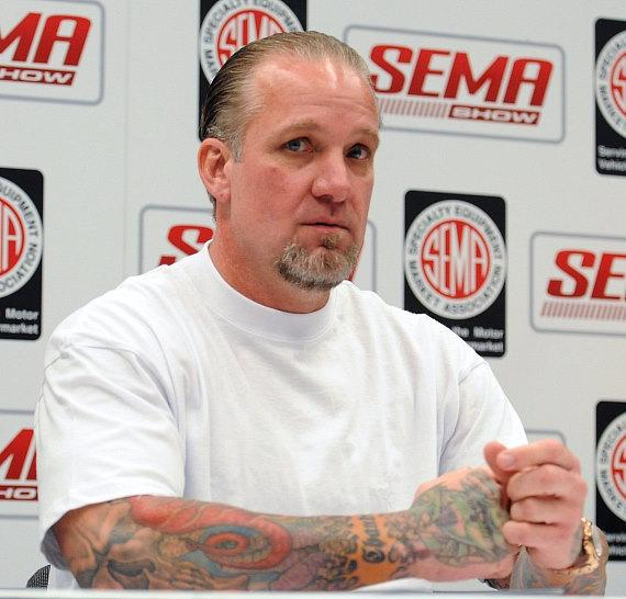 Jesse James promotes how-to videos at SEMA Auto Show in Las Vegas