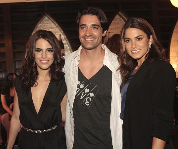 Jessica Lowndes, Gilles Marini and Nikki Reed