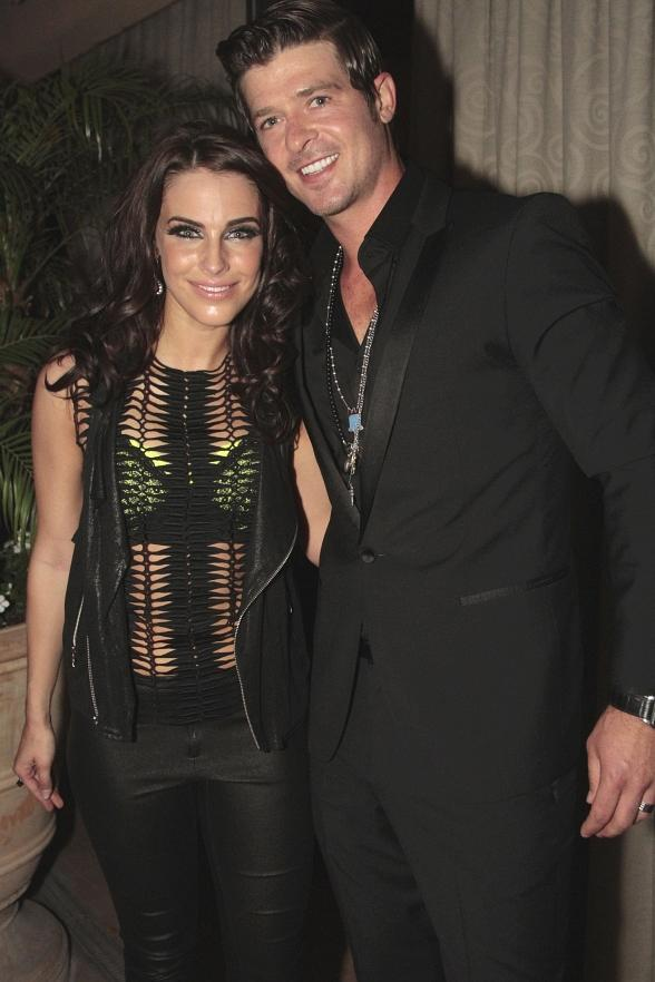 Jessica Lowndes &amp; Robin Thicke