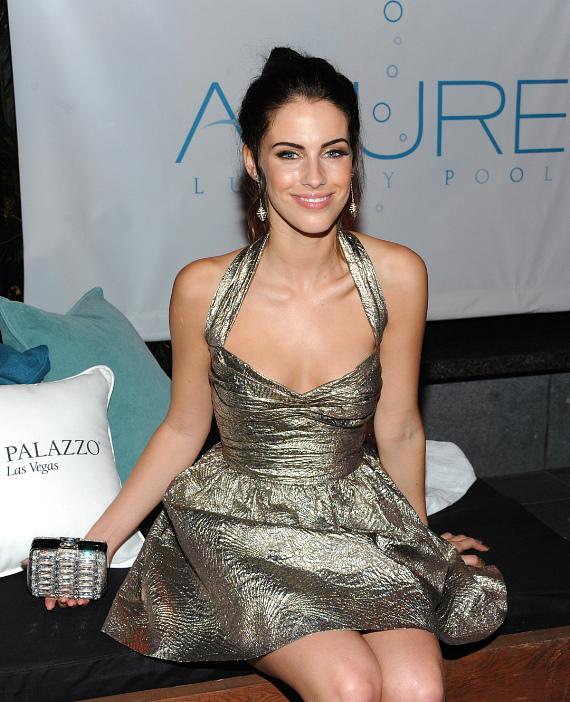 Jessica Lowndes in the Azure lounge at the Hollywood Style Awards