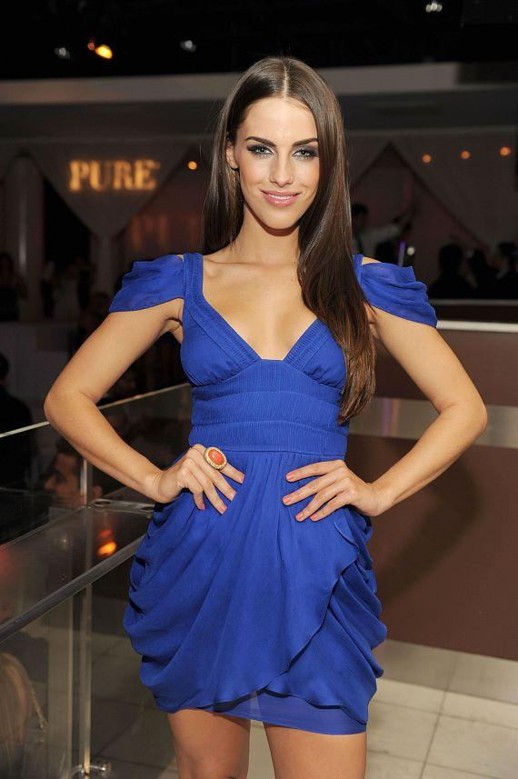 Jessica Lowndes celebrates 22nd birthday at PURE Nightclub
