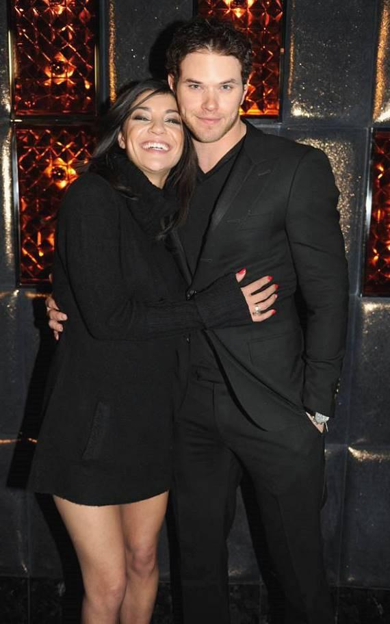 Jessica Szohr and Kellan Lutz