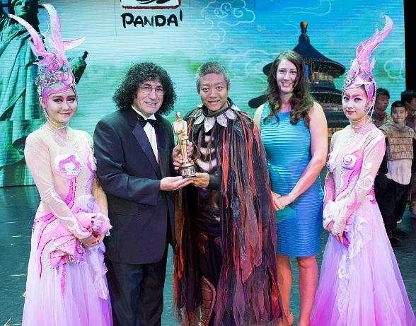 PANDA! Performer Boran Yu Honored with Merlin Award from the International Magicians Society at The Palazzo Las Vegas