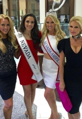 Mrs. Nevada-America Lauren Cahlan Celebrates Mrs. America Send-Off with Lavish Party at Ben Gioielli & Co.