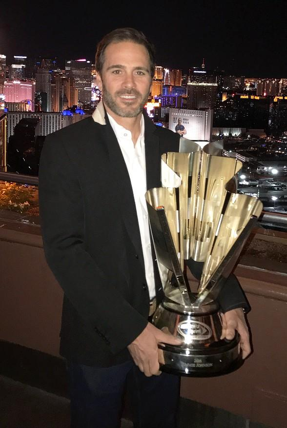 NASCAR Champ Jimmie Johnson spotted at Foundation Room at House of Blues Las Vegas