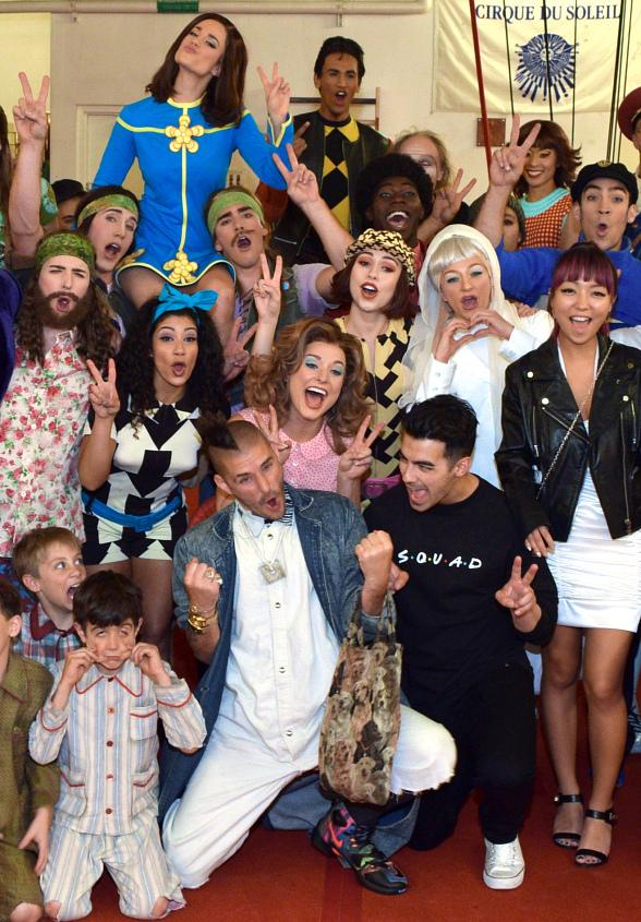 Joe Jonas and DNCE attend