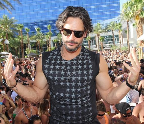 Joe Manganiello at Rehab Sunday