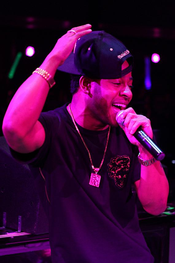 Eric Bellinger Performs at HAZE at ARIA in Las Vegas