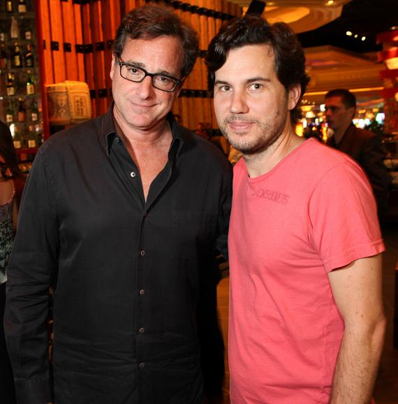 Bob Saget and Scott Sartiano