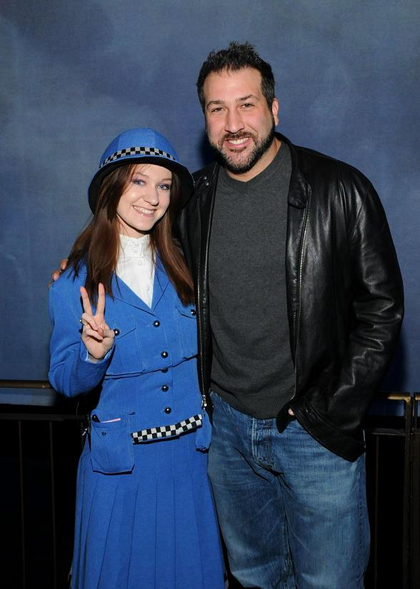 Joey Fatone Attends The Beatles LOVE by Cirque du Soleil at The Mirage