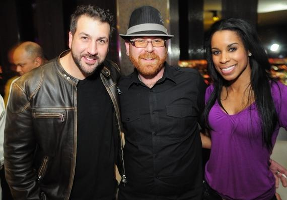 Joey Fatone, friend, Chandella Powell