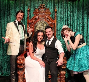 "Inkmaster Joey ""Hollywood"" Hamilton Attends ABSINTHE at Caesars Palace"