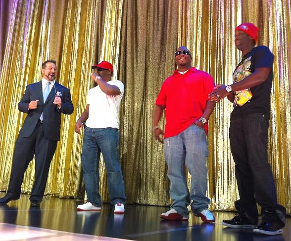 Boyz II Men Help Joey Fatone with The Price is Right - Live