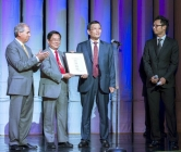 Chinese Consul General Yuan Nansheng Presents PANDA! with Proclamation Celebrating 200th Performance at The Palazzo Las Vegas