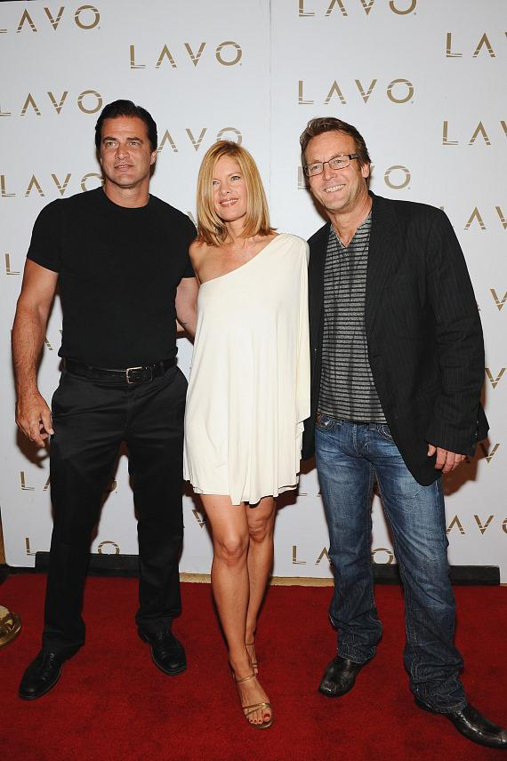 John Enos III, Michelle Stafford &  Doug Davidson at LAVO
