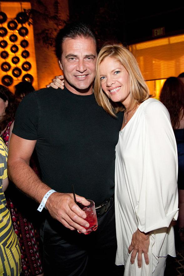 John Enos III & Michelle Stafford at LAVO