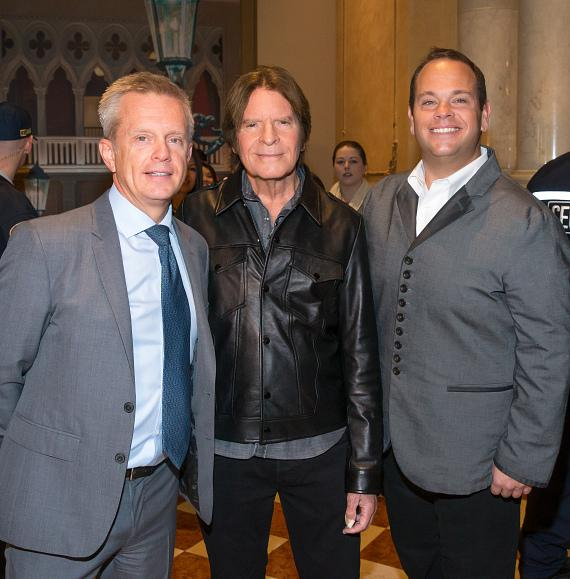 John Fogerty arrives at The Venetian Las Vegas