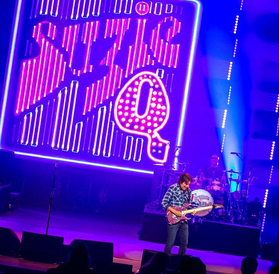 John Fogerty performs Suzie-Q on opening night at The Venetian
