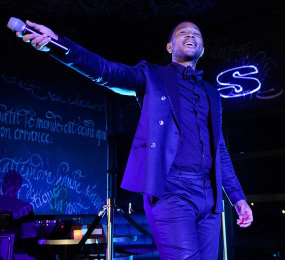 John Legend Performs at Foxtail Nightclub