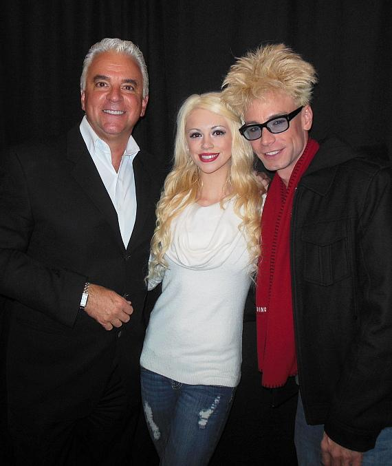 John O'Hurley with Chloe Crawford and Murray SawChuck