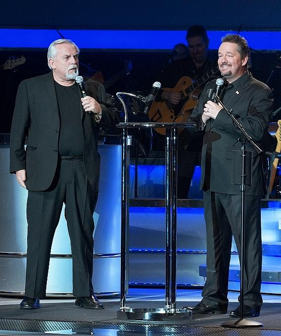 John Ratzenberger and Terry Fator