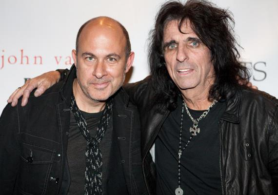 John Varvatos and Alice Cooper