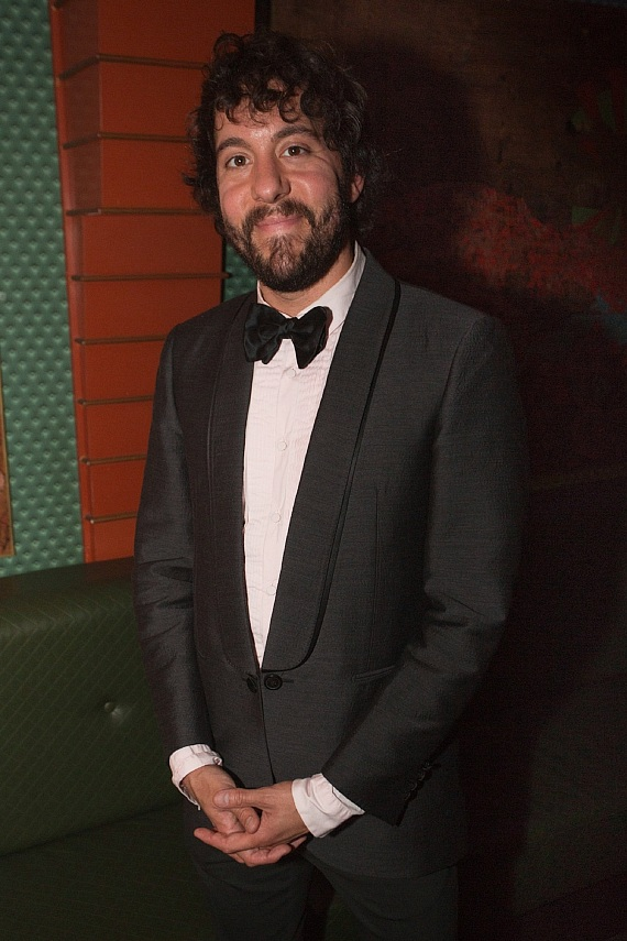 Jonathan Kite at VIP table inside The ACT Nightclub