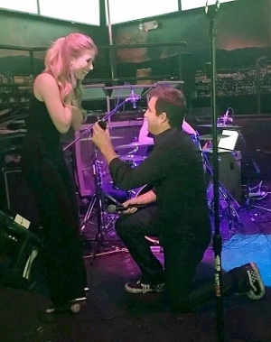 Jonathan Fine and Katie Epstein Engaged at Rockhouse