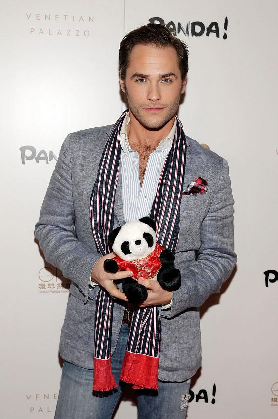 Josh Strickland at world premiere of PANDA!