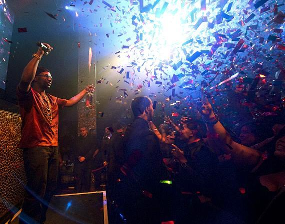 Juicy J performs at TAO