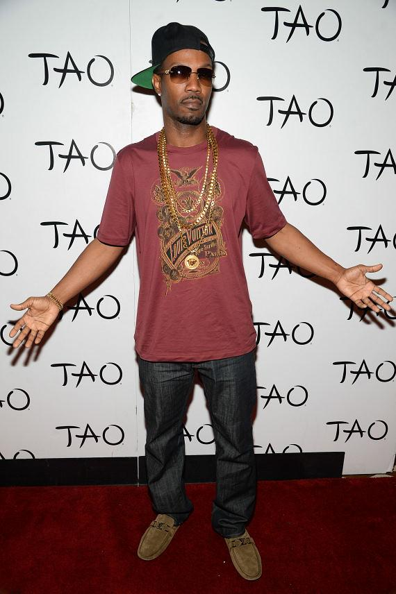 Juicy J arrives at TAO