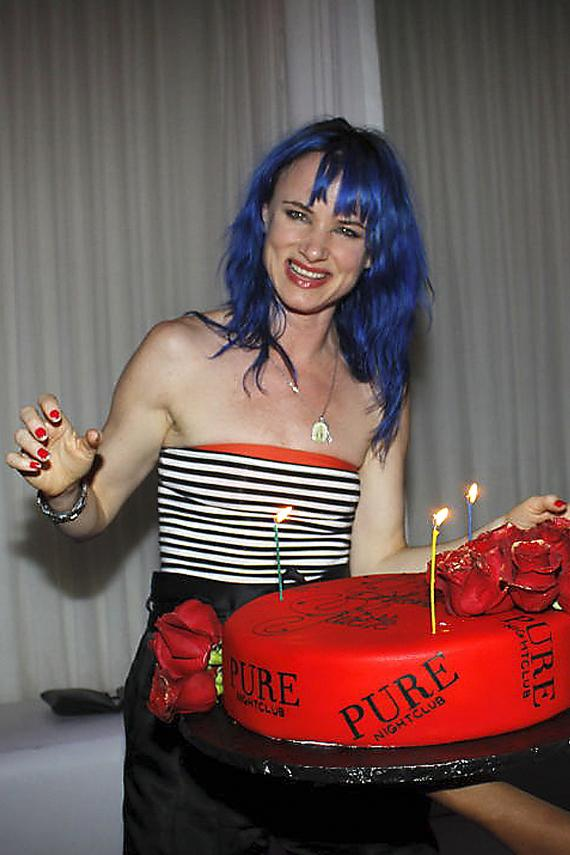 Juliette Lewis celebrates birthday at PURE Nightclub