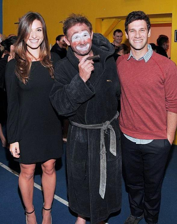 Justin Bartha Takes a Break from Filming 'Hangover 3' to Visit 'O' by Cirque du Soleil