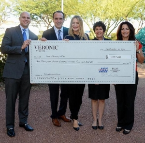 "Véronic Donates to August Charity Partner for ""Lend Your Voice"" Fundraising Campaign, Keep Memory Alive"