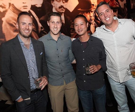 Justin Weniger, Jonathan Jossel, Tony Hsieh and Fred Mossler